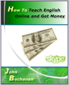 Ebook cover: How To Teach English Online and Get Money