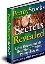 Ebook cover: Penny Stock Secrets Revealed