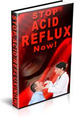 Ebook cover: Stop Acid Reflux Now