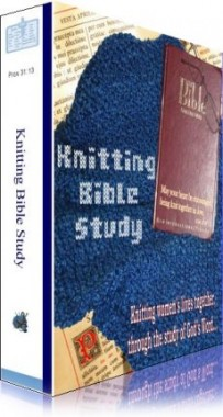 Ebook cover: Knitting Bible Study