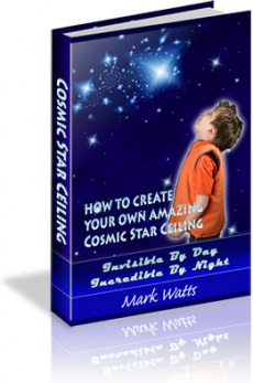 Ebook cover: How To Create Your Own Amazing Cosmic Star Ceiling