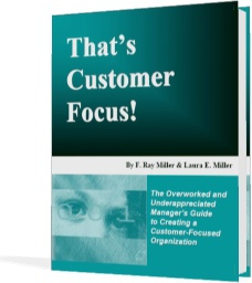 Ebook cover: That's Customer Focus!
