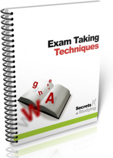 Ebook cover: Exam Taking Techniques