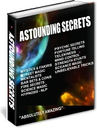 Ebook cover: Astounding Secrets