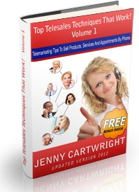 Ebook cover: Top Telesales Techniques that Work