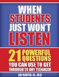 Ebook cover: When Students Just Won't Listen