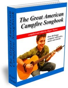 Ebook cover: The Great American Campfire Songbook