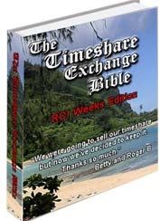 Ebook cover: The Timeshare Exchange Bible - RCI Weeks Edition