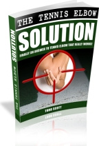 Ebook cover: The Tennis Elbow Solution