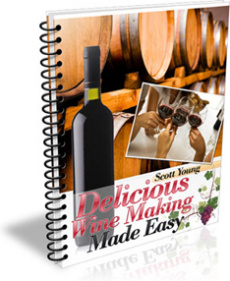 Ebook cover: Delicious Wine Making Made Easy