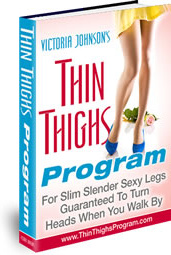 Ebook cover: Thin Thighs Program