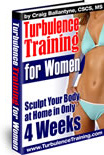 Ebook cover: Turbulence Training for Women Fat Burning 4-Week Program