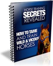 Ebook cover: Horse Training Secrets Revealed