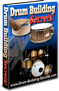 Ebook cover: Drum Building Secrets