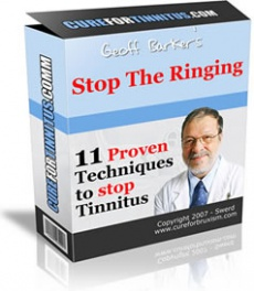 Ebook cover: Stop The Ringing