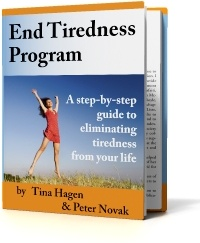 Ebook cover: End Tiredness Program