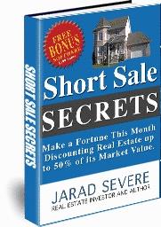 Ebook cover: Short Sale Secrets