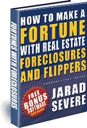 Ebook cover: Fortunes in Real Estate Foreclosures