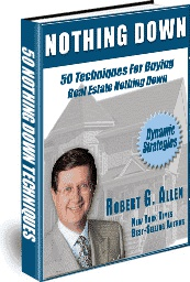 Ebook cover: 50 Nothing Down Techniques