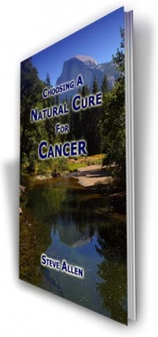 Ebook cover: Choosing a Natural Cure for Cancer