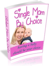 Ebook cover: Single Mom By Choice