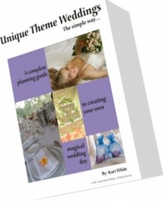 Ebook cover: Unique Theme Weddings