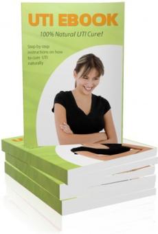 Ebook cover: UTI Secret - Cure your UTI Fast