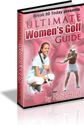 Ebook cover: Ultimate Women's Golf Guide