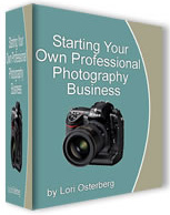 Ebook cover: Start A Photo Business