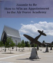Ebook cover: How to Win an Appointment to the Air Force Academy