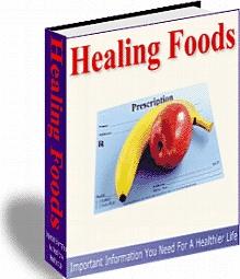 Ebook cover: Healing Foods