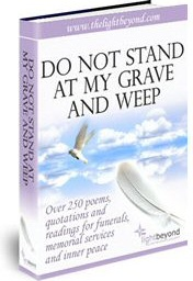 Ebook cover: Do Not Stand At My Grave And Weep