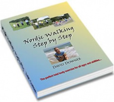 Ebook cover: Nordic Walking Step by Step
