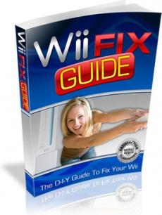 Ebook cover: Wii Fix Guide