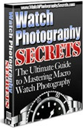 Ebook cover: Watch Photography Secrets