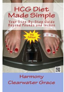 Ebook cover: HCG Diet Made Simple