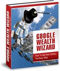 Ebook cover: Google Wealth Wizard
