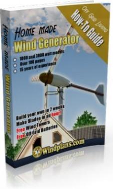 Ebook cover: Build A Wind Generator