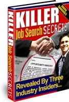Ebook cover: KILLER Job Search Secrets