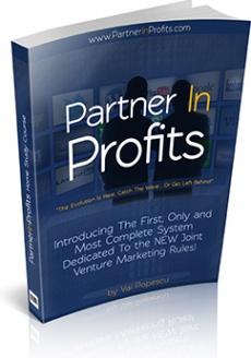 Ebook cover: Partner In Profits
