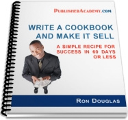 Ebook cover: Write A Cookbook and Make It Selll