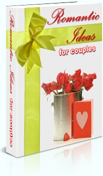 Ebook cover: Romantic Ideas for Couples