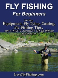 Ebook cover: Fly Fishing For Beginners