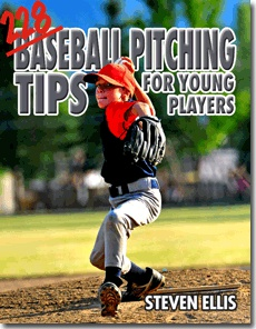 Ebook cover: 228 Baseball Pitching Tips For Young Players