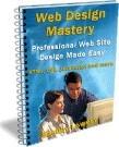 Ebook cover: Web Design Mastery