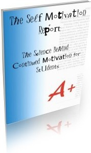 Ebook cover: The Self Motivation Report - The science behind continued motivation