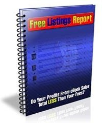 Ebook cover: Free Listings Report