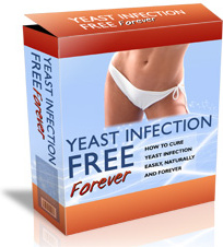 Ebook cover: Yeast Infection Free Forever