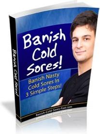 Ebook cover: Banish Cold Sores!