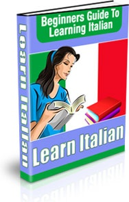 Ebook cover: Beginner's Guide to Learning Italian
